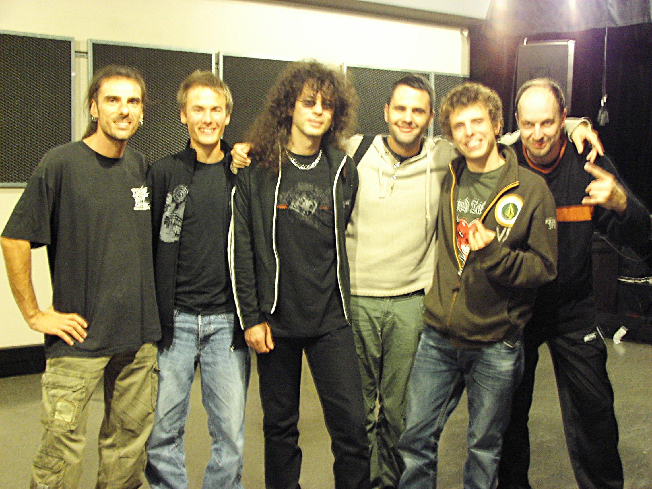 Rondat, Guers, Martin, Bruinenberg, Remy et moi